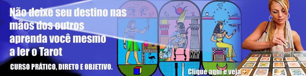 Clique em cima da foto e veja mais informações sobre o Curso de Tarologia – Tarot Egípcio